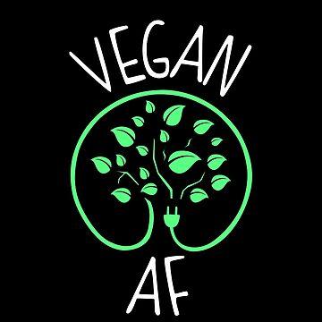 Vegan AF by KsuAnn