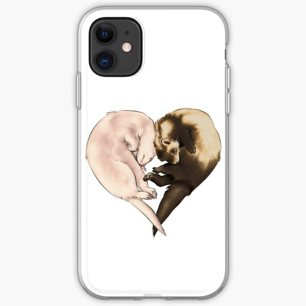 Ferret Love iPhone Soft Case