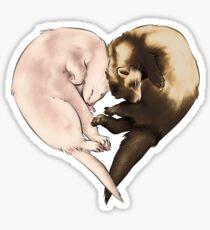Ferret Love Sticker