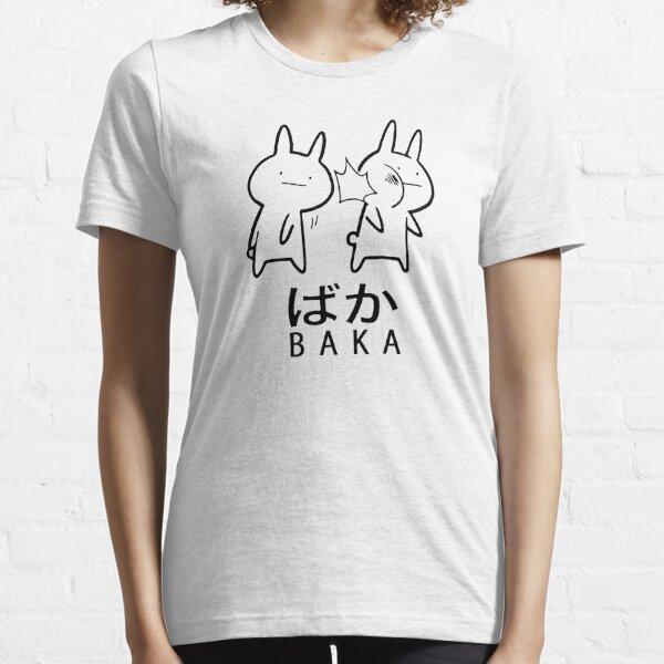 Funny Anime Baka Rabbit Slap  Essential T-Shirt