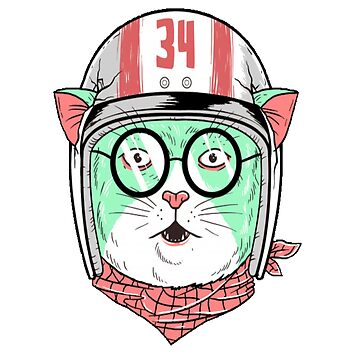 Racer cat by sager4ever
