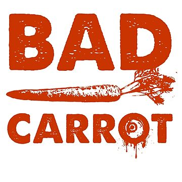 Bad Carrot (Orange) by blackdalek