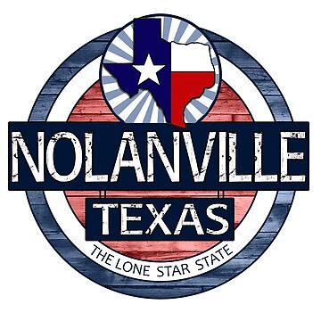 Nolanville Texas rustic wood circle by artisticattitud