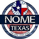 Nome Texas rustic wood circle by artisticattitud