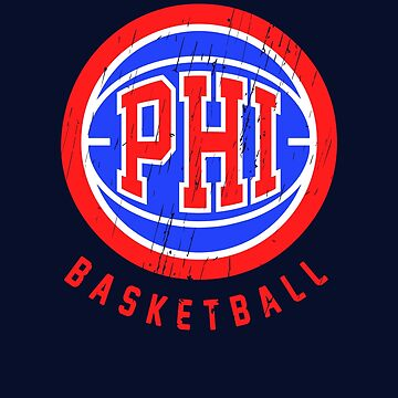 Philadelphia Retro Basketball  by BonafideIcon
