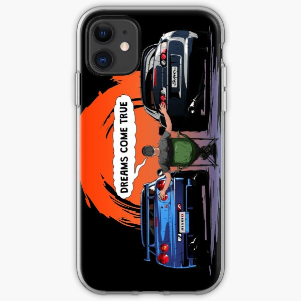 TOYOTA Supra and Nissan SKYLINE  iPhone Soft Case
