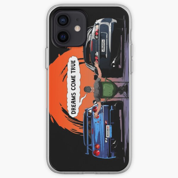 TOYOTA Supra and Nissan SKYLINE  iPhone Soft Case