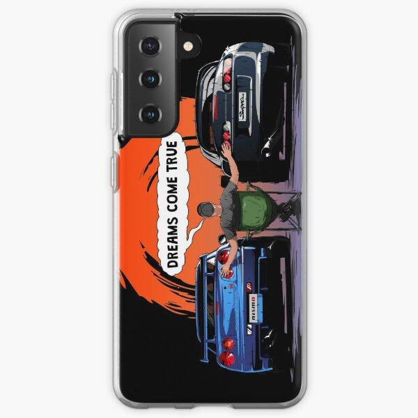 TOYOTA Supra and Nissan SKYLINE  Samsung Galaxy Soft Case