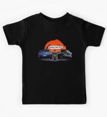 TOYOTA Supra and Nissan SKYLINE  Kids Tee