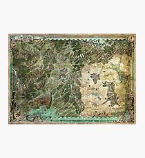 Dragon Pass and Surrounding Regions by Olivier Sanfilipo Photographic Print