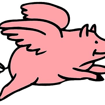 Flying Pig by procrest