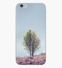 Alone in the Heather iPhone Case