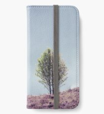 Alone in the Heather (Cat Burton Photography) iPhone Wallet/Case/Skin