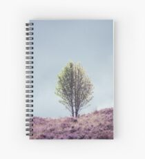 Alone in the Heather (Cat Burton Photography) Spiral Notebook