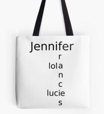first name Tote Bag