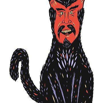 Devil Cat by MOREDANKMEMES