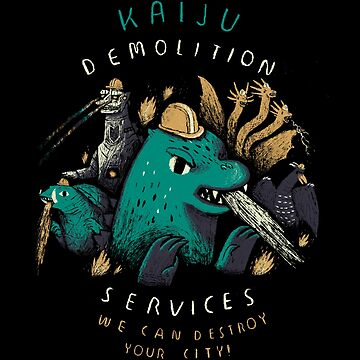 kaiju demolition services by louros