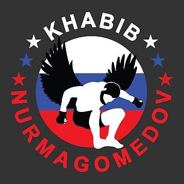 Khabib Nurmagomedov The Eagle by mijumi