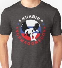 Khabib Nurmagomedov The Eagle Unisex T-Shirt
