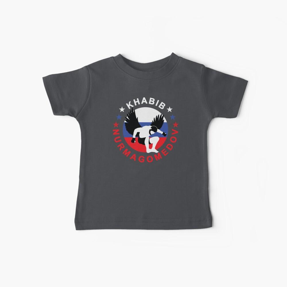 Khabib Nurmagomedov El Águila Camiseta para bebés