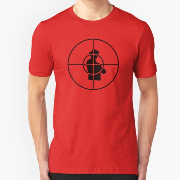 public enemy logo Slim Fit T-Shirt