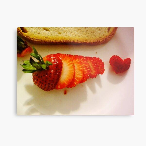 Yummy strawberry  Metal Print