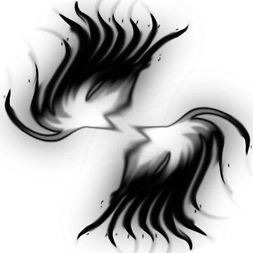 Twin Phoenix Darkness Mode by davayala93