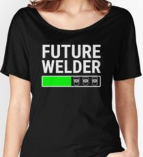 Future Welder Welding Student Loading Bar T-shirt Women's Relaxed Fit T-Shirt