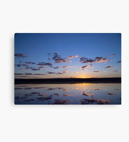 Sunrise Port Gregory Canvas Print