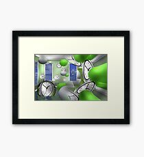 Reality multiplex 817  Framed Print
