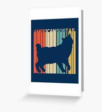 American Bobtail Cat Greeting Card