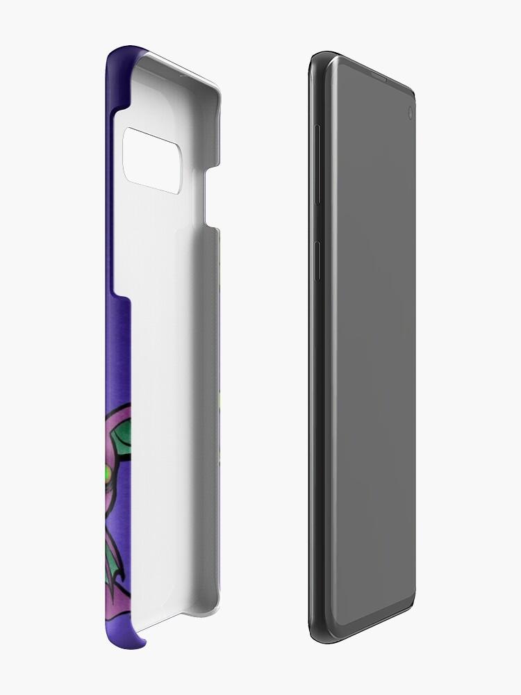 Vista alternativa de Funda y vinilo para Samsung Galaxy Suckers de sangre