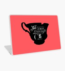 Chipped Cup Design No. 2 Laptop Skin