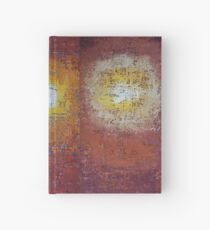 Staring into the Suns original painting Hardcover Journal