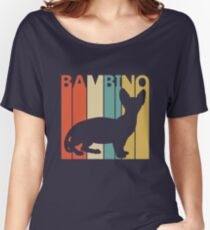 Bambino Cat Women's Relaxed Fit T-Shirt