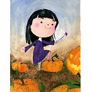 « Halloween Spell witch - petite sorcière d'halloween » par Castel Yvonne