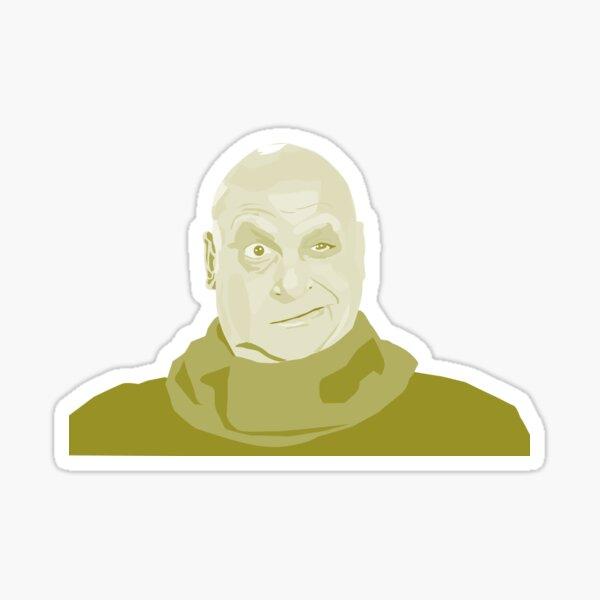 Uncle Fester Addams Sticker