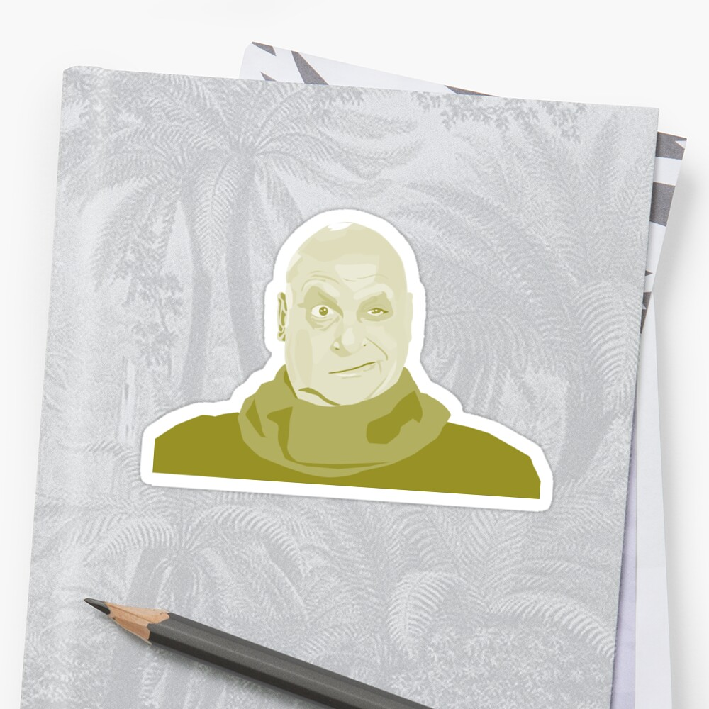 Uncle Fester Addams Sticker