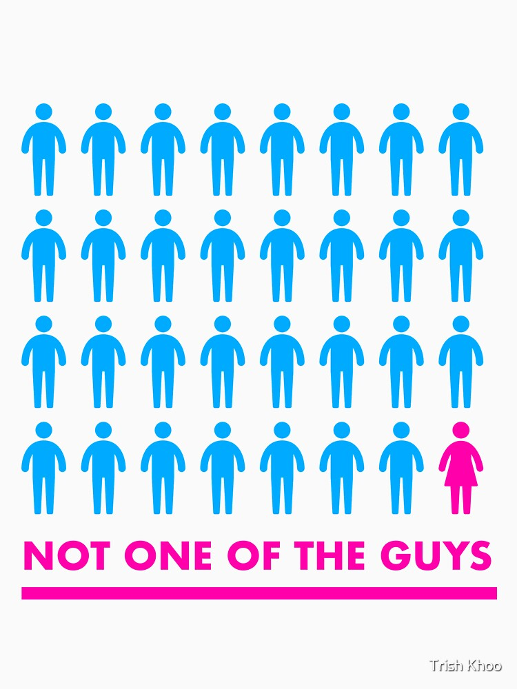 Not one of the guys by hogfish