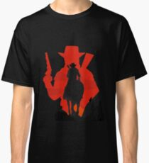 Red dead redemption 2 RDR2 GEEK PS4 gamer HD John Marston western  Classic T-Shirt