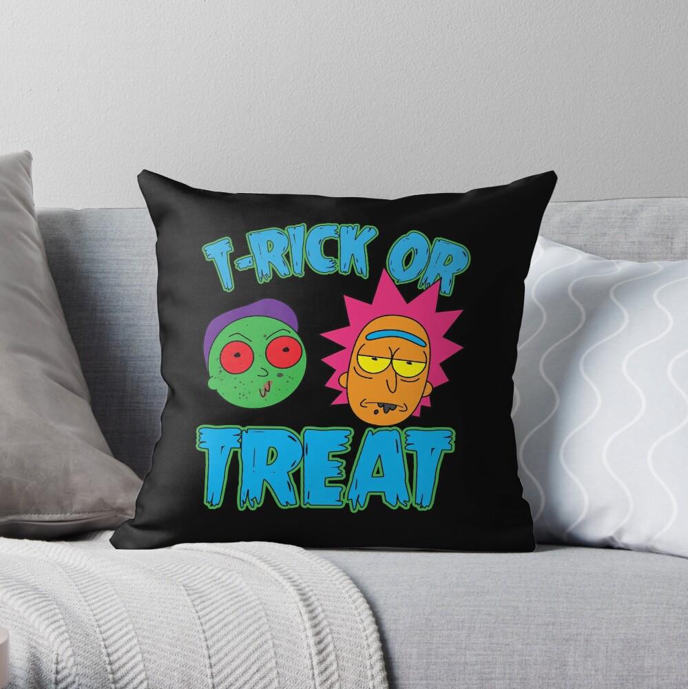 T-Rick Or TREAT Throw Pillow