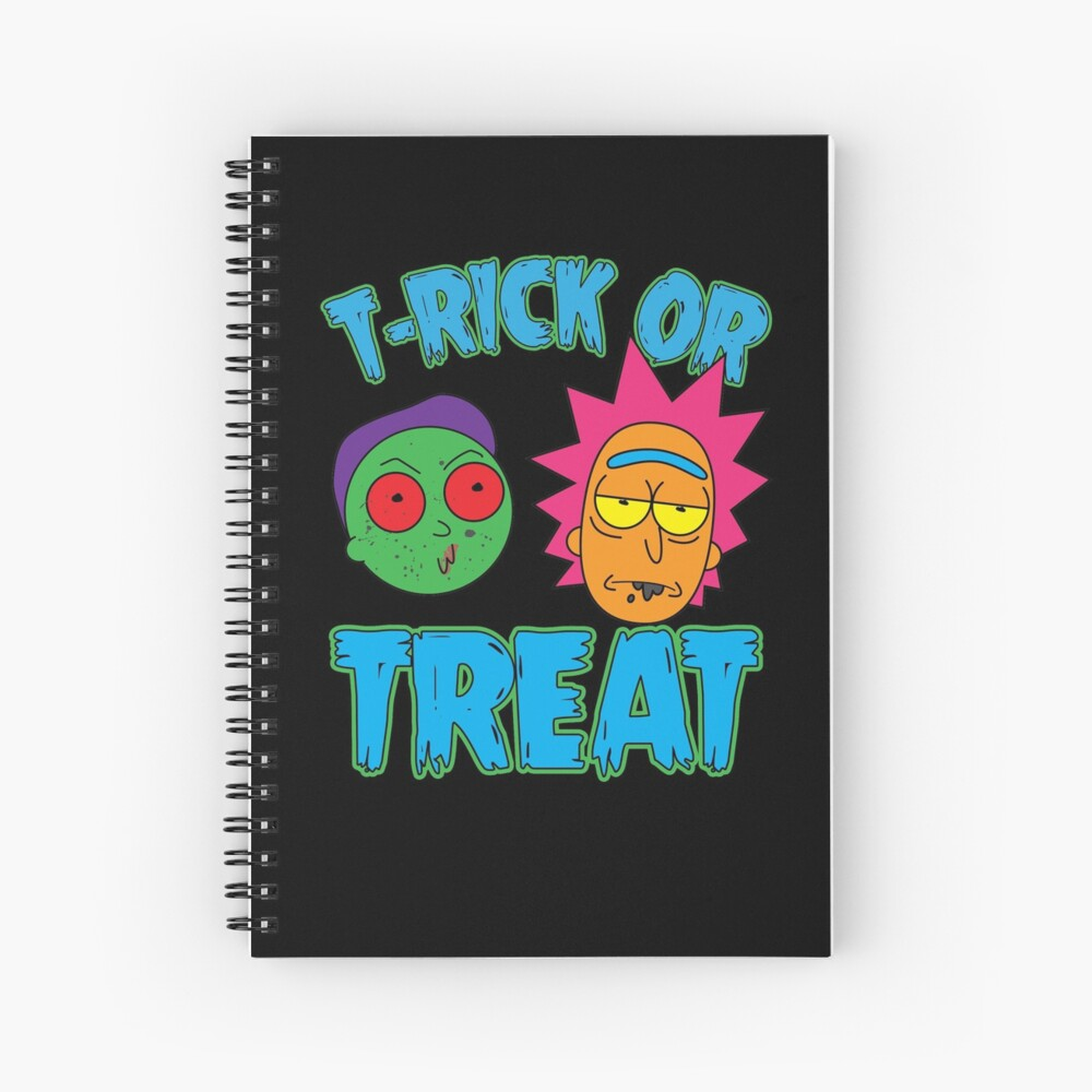 T-Rick Or TREAT Spiral Notebook