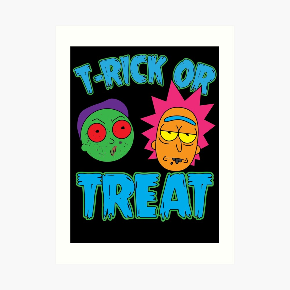 T-Rick Or TREAT Art Print