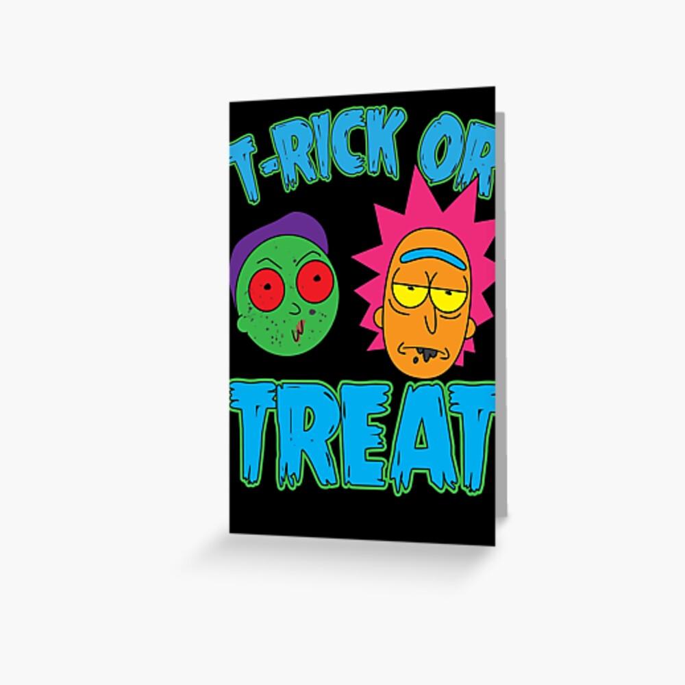 T-Rick Or TREAT Greeting Card