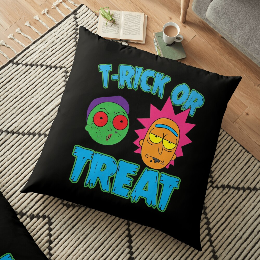 T-Rick Or TREAT Floor Pillow