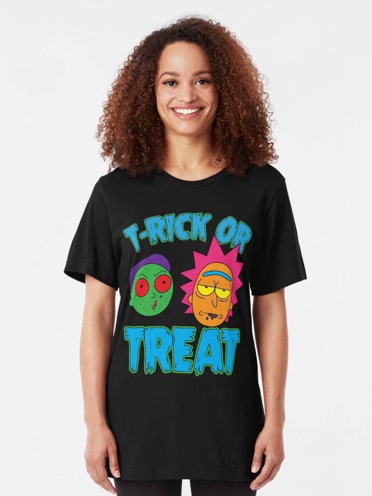 Alternative Ansicht von Süßes oder Saures Slim Fit T-Shirt
