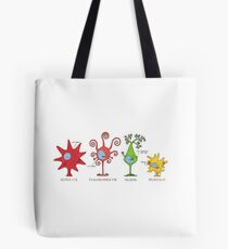Meet your brain cells! - WIDE Tote Bag