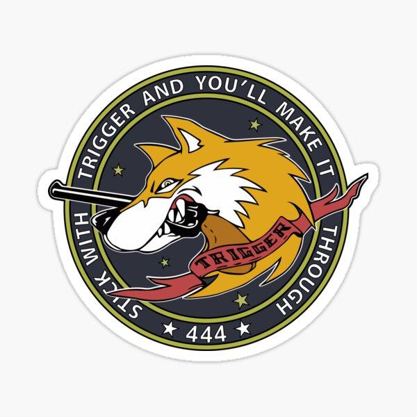 Ace Combat Trigger Badge Sticker