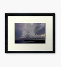 Typhoon Season Framed Print