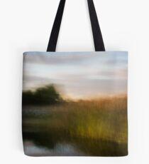 Blurred Landscape Tote Bag